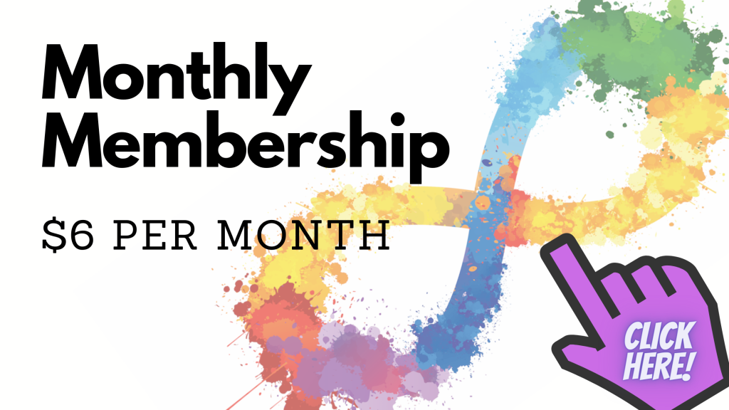 Click this picture to sign up for a monthly membership. The link will take you to PayPal.